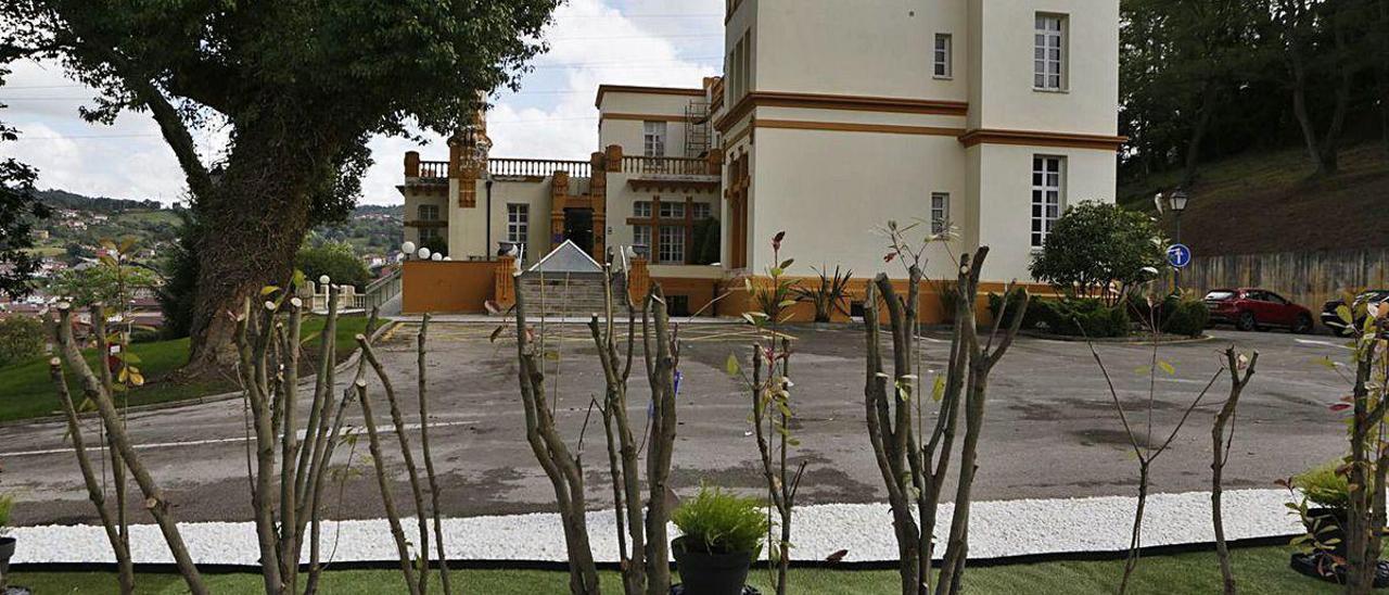 El Palacio de las Nieves, a principios de julio, con la remodelación ya realizada.