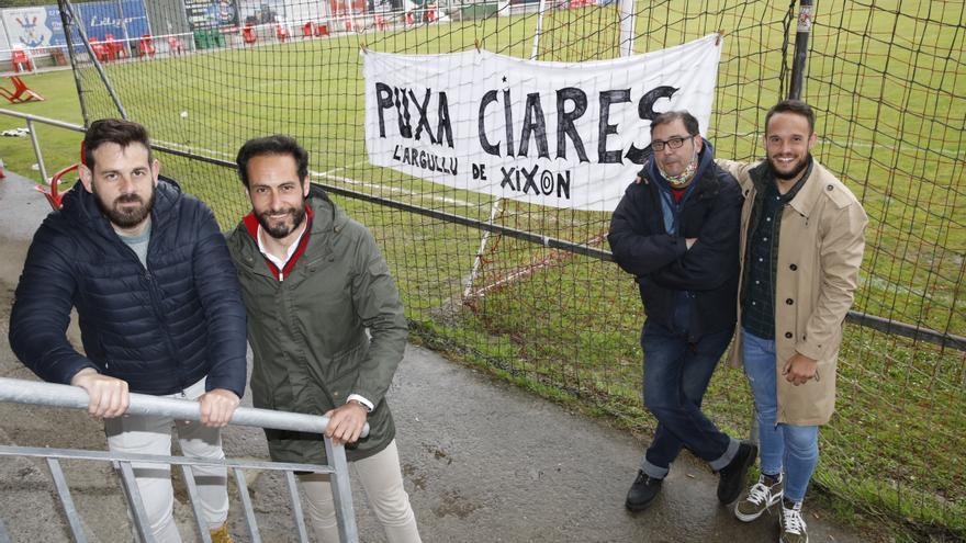 """Estos son los héroes del Ceares: """"Somos el segundo equipo de Gijón"""""""