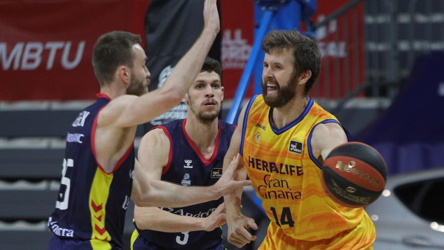 El Granca pasa del Playoff al caer en Andorra (86-81)