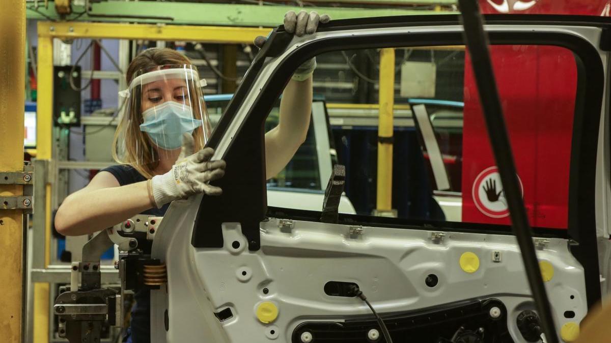 Una imagen de la planta de Ford en Almussafes.