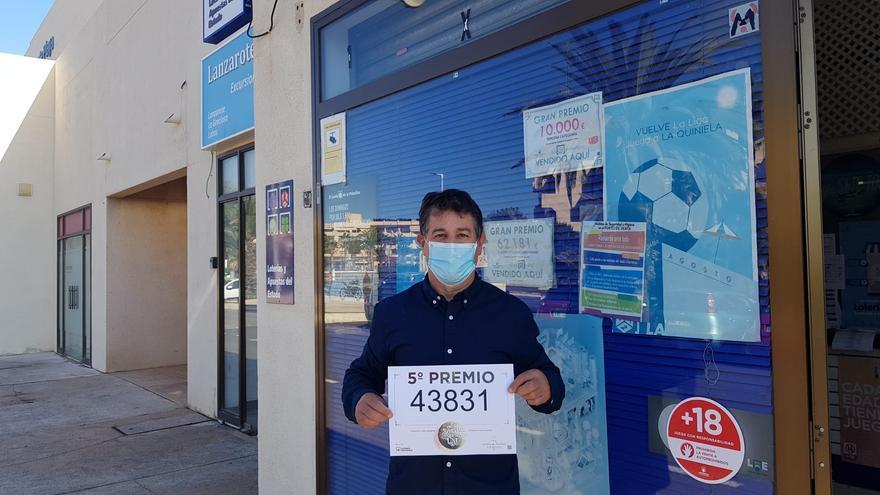 Lotería 2020 | Lanzarote vende un quinto premio en Costa Teguise