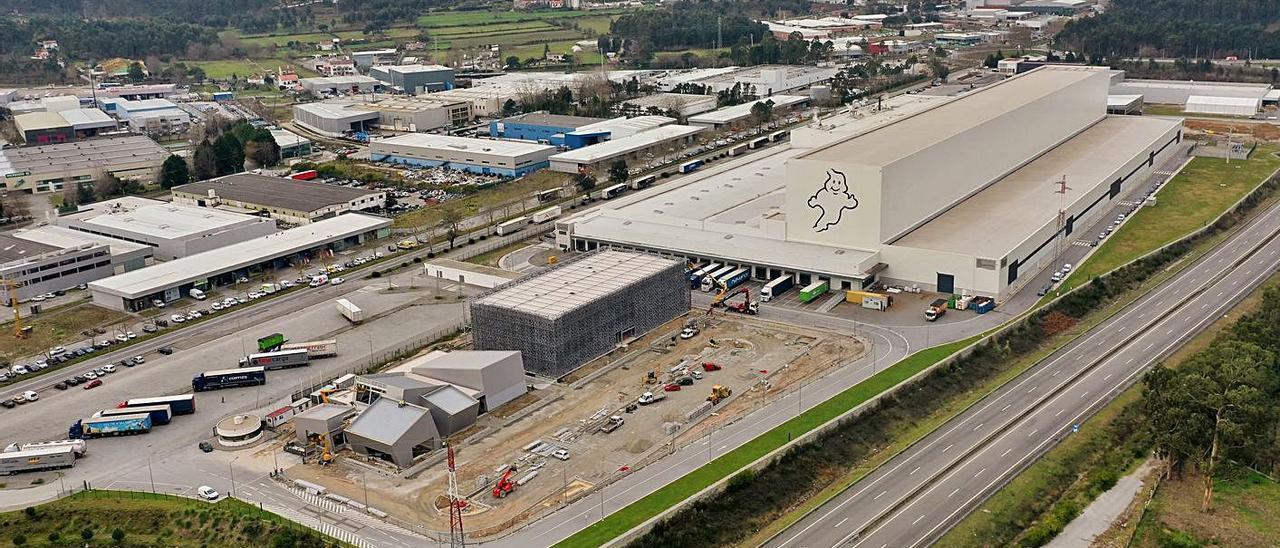 Vista parcial de la Zona Industrial de Neiva, en Viana, que será ampliada.