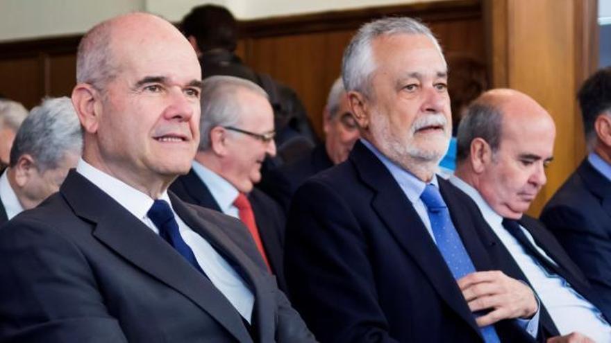 Una testigo del caso de los ERE implica a Chaves y Griñán