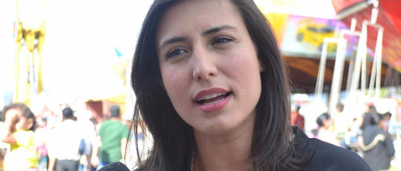 Patricia de Ceballos, la esposa del opositor venezolano.
