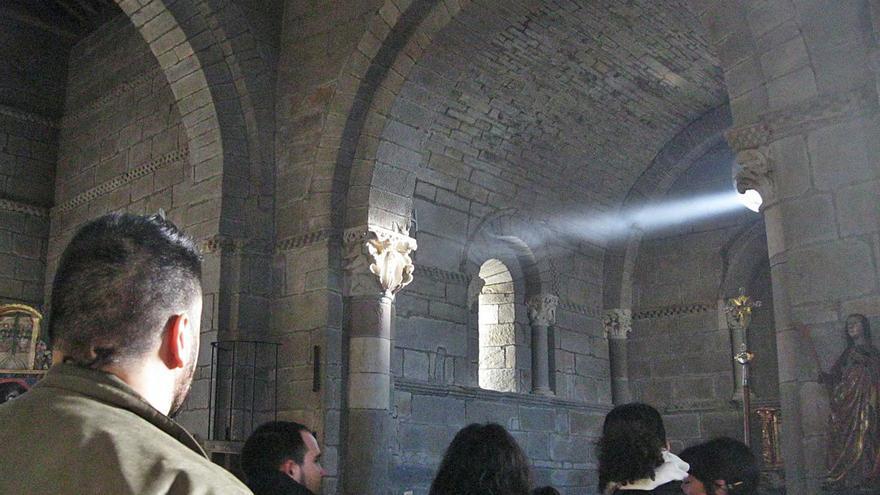 Santa Marta de Tera vivirá el fenómeno de la luz equinoccial con aforo limitado