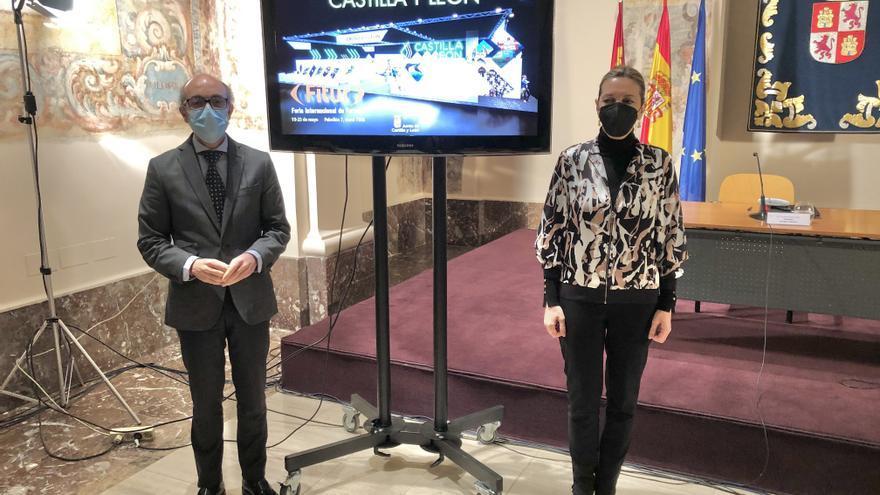 Castilla y León refuerza el papel comercial en Fitur con el Xacobeo