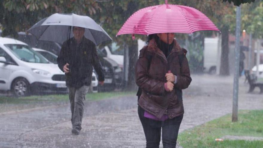 L'episodi de pluges ha estat menys intens del previst i no s'han registrat incidències