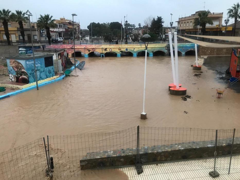 Los Alcázares, inundado otra vez