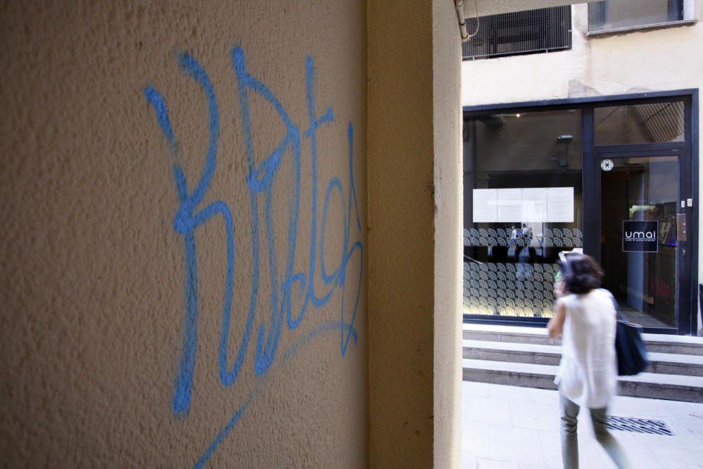Pintades al barri del Mercadal