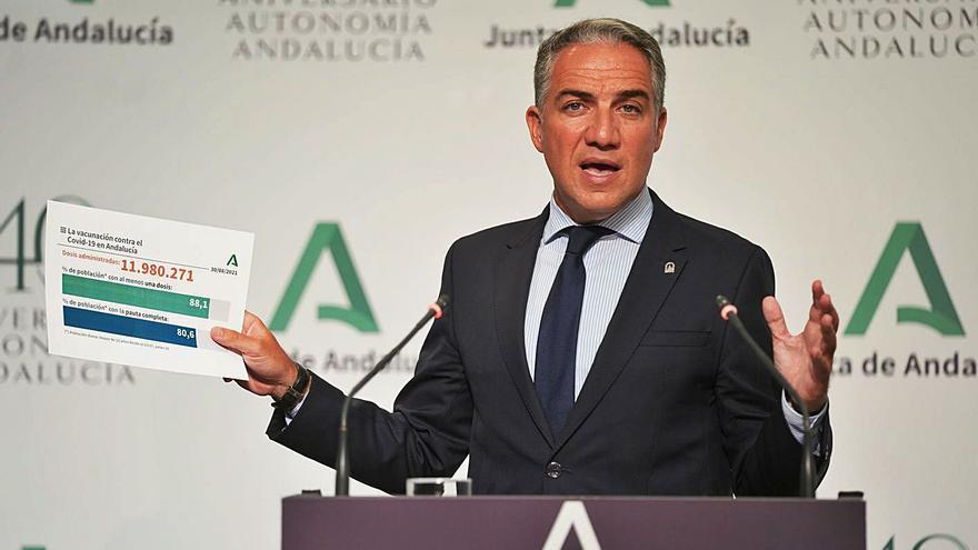 Andalucía esperará a oír a organismos internacionales sobre la tercera dosis