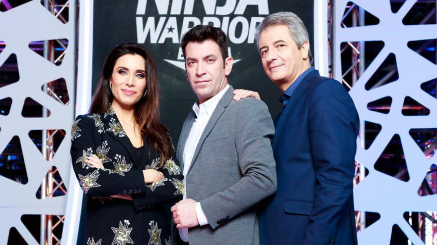 Arturo Valls, Pilar Rubio y Manolo Lama, en busca del primer 'Ninja Warrior' de España