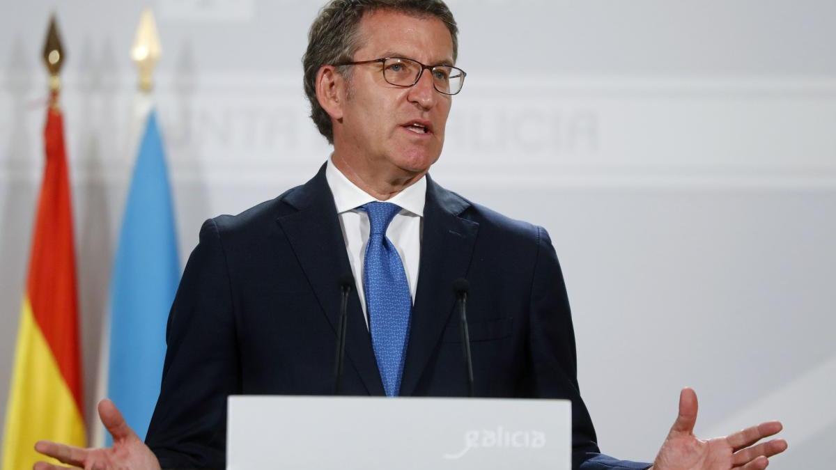 El presidente de la Xunta, Alberto Núñez Feijóo. // Jr Lavandeira