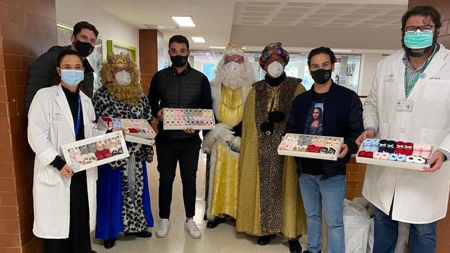 Hosteleros malagueños donan 250 patucos al Materno