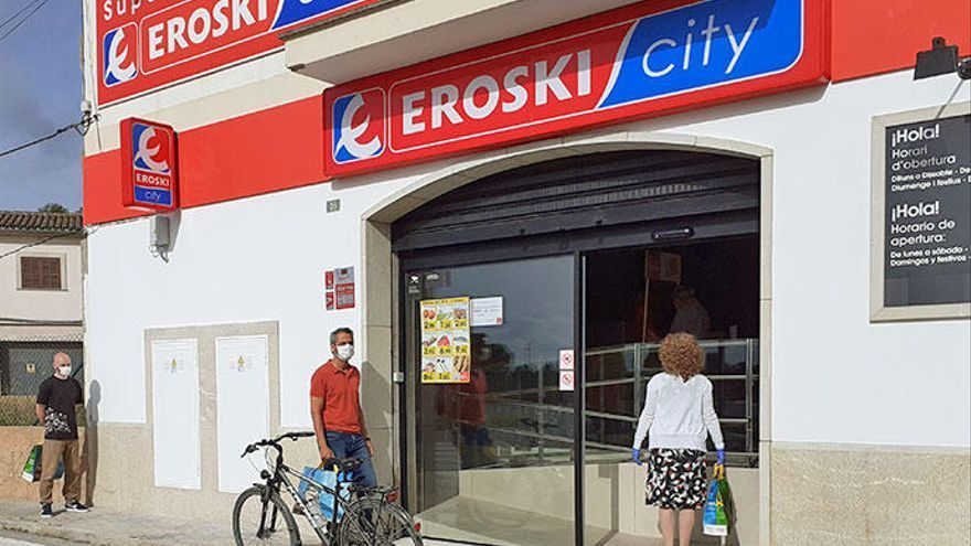 Eroski cerró 2020 con ventas totales de 5.376 millones, un 2,1% más y las de alimentación crecen un 8,6%