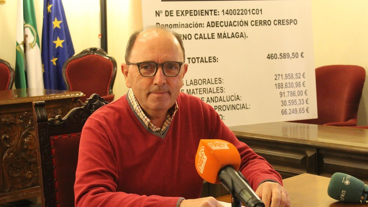 Antonio Maestre, concejal de Obras del Ayuntamiento de Aguilar.