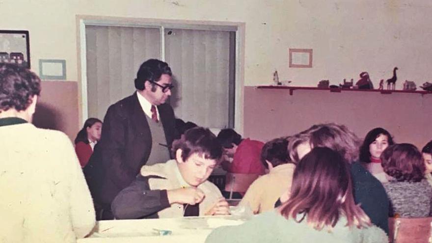 Un maestro de generaciones en San Andrés y San Antolín