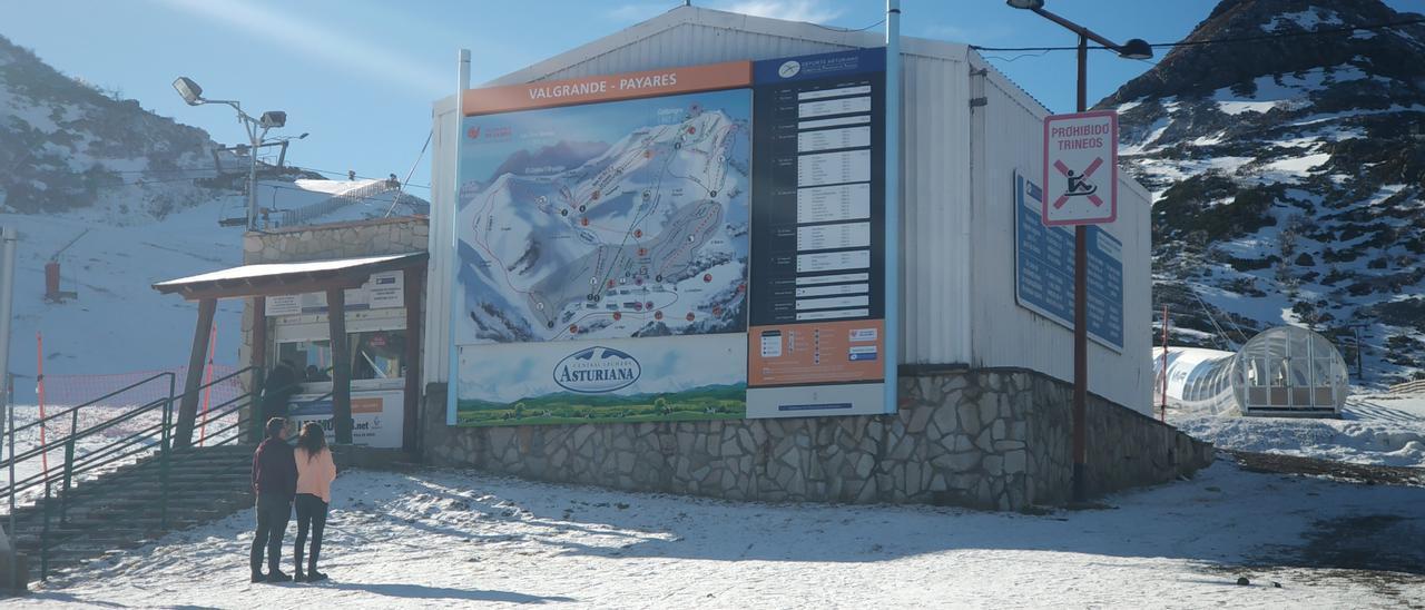 La estación de esquí de Valgrande-Pajares.