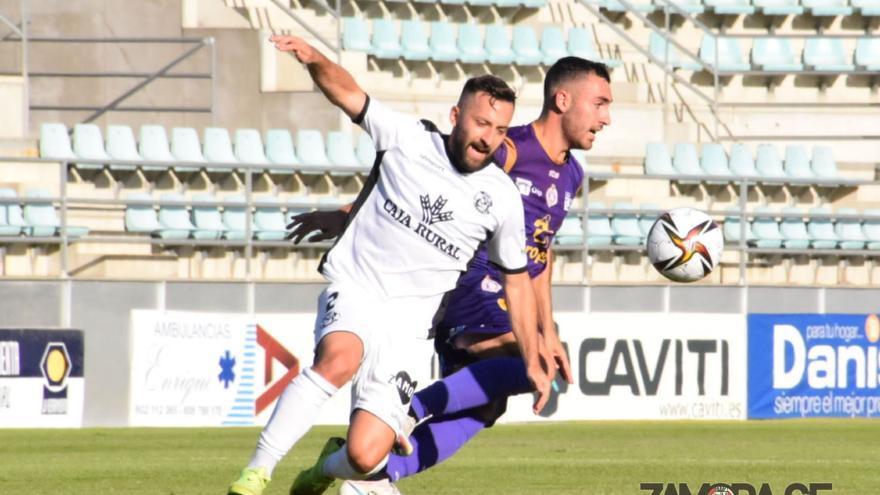 El Zamora CF cede ante el Cristo Atlético en un nuevo amistoso
