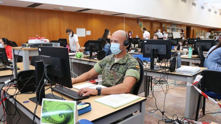 Los rastreadores militares detectan en Canarias más de 12.500 casos de covid