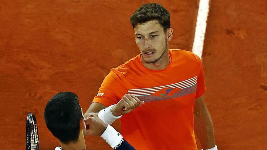 """Carreño: """"He conseguido que Djokovic dudara"""""""
