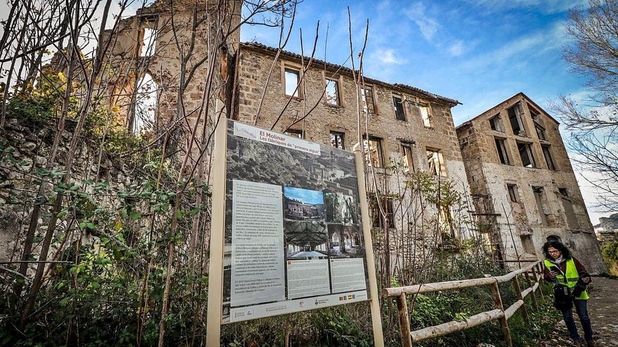 La Generalitat invertirá un millón de euros para rehabilitar El Molinar en la ciudad de Alcoy