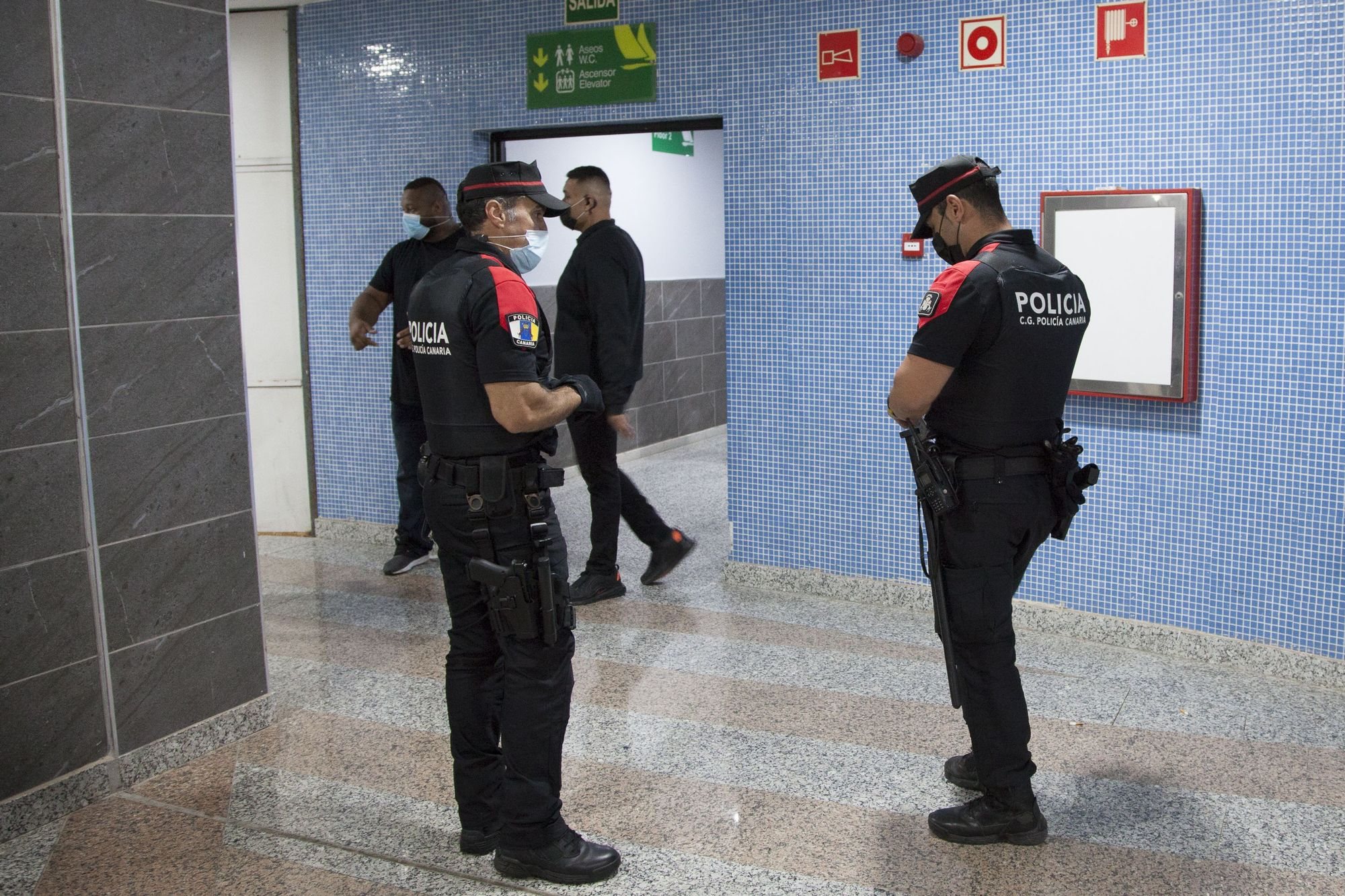 Despliegue de dispositivos de control del Cuerpo General de la Policía Canaria en Gran Canaria (15/05/21)
