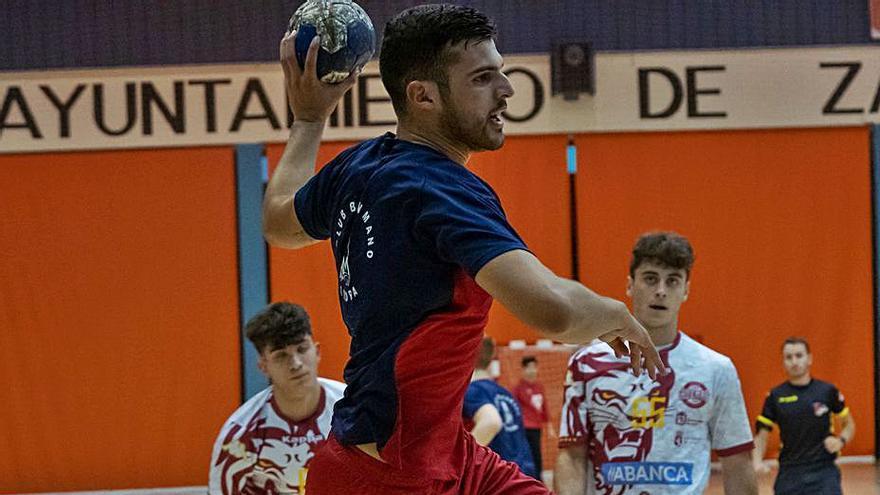 El Balonmano Zamora participa hoy en el I Torneo de Nigrán