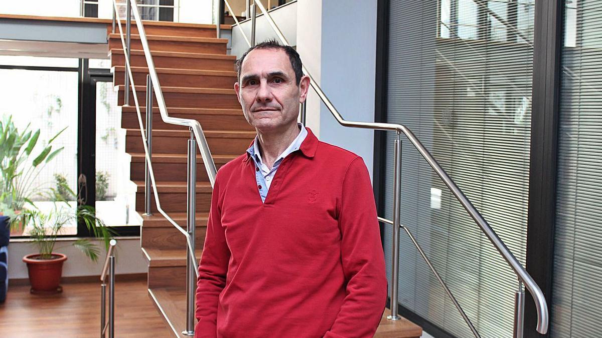 Federico Hermosel, tesorero del Colegio de Graduados Sociales de Balears.