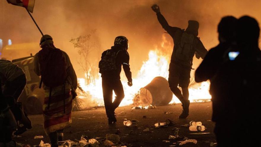 Un jove independentista accepta dos anys de presó per agredir dos mossos en una manifestació a Barcelona