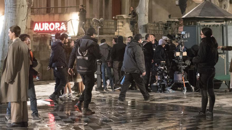 La sèrie «Hache» acaba divendres el rodatge de la segona temporada a Manresa