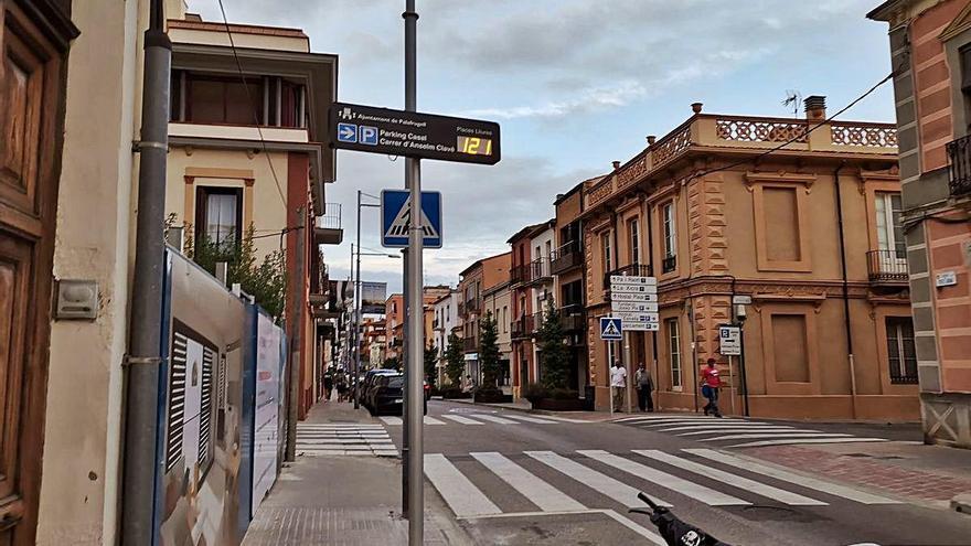 Palafrugell posa en marxa el seu primer aparcament intel·ligent amb 226 places