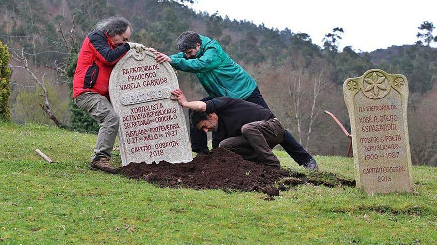 Una lápida contra el olvido