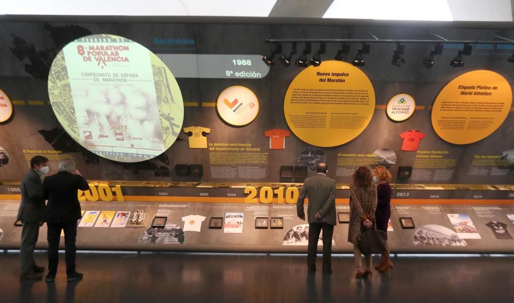 Exposición 40 aniversario del Maratón de Valencia