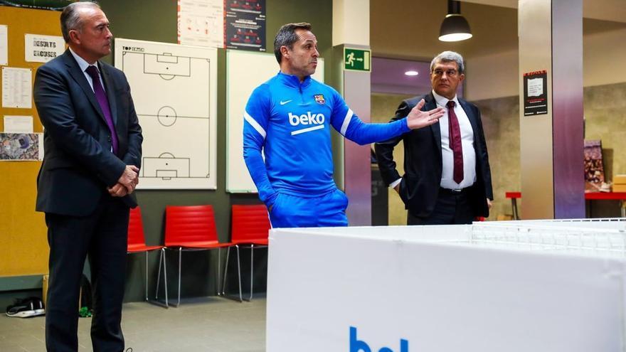 Sergi Barjuan es fa càrrec del Barça de forma interina