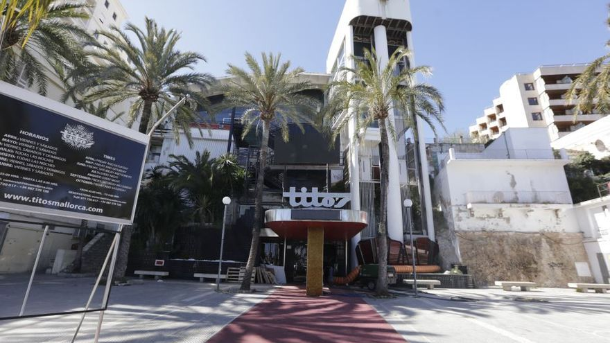 Cort advierte del sobrecoste del cambio de uso de la discoteca Tito's a residencial o turístico