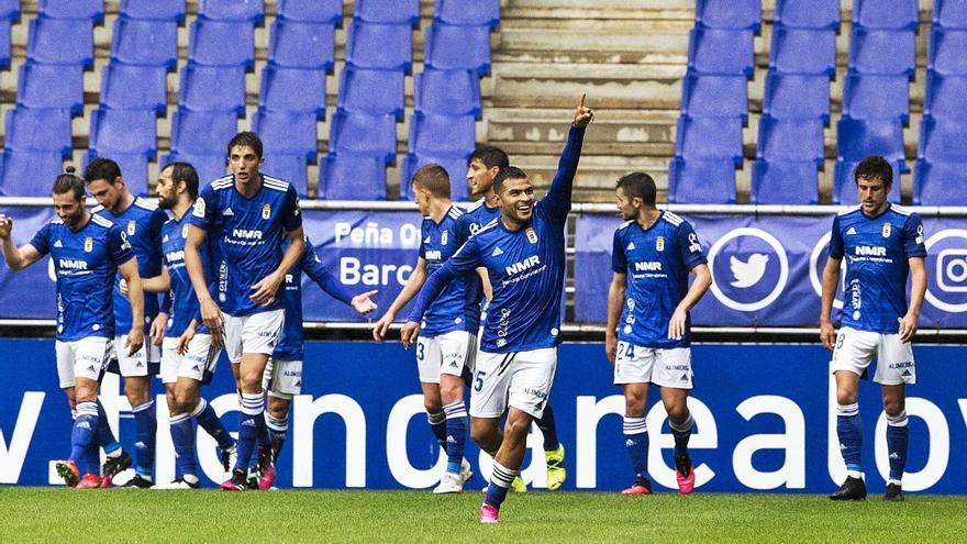 La crónica del Oviedo-Sabadell: el equipo azul acaricia la permanencia