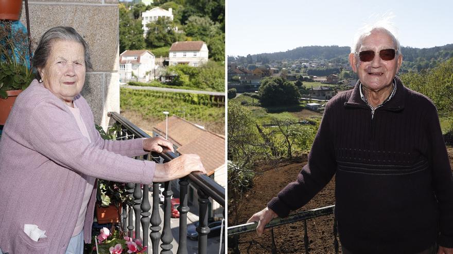 Casi la mitad de los centenarios vigueses viven solos