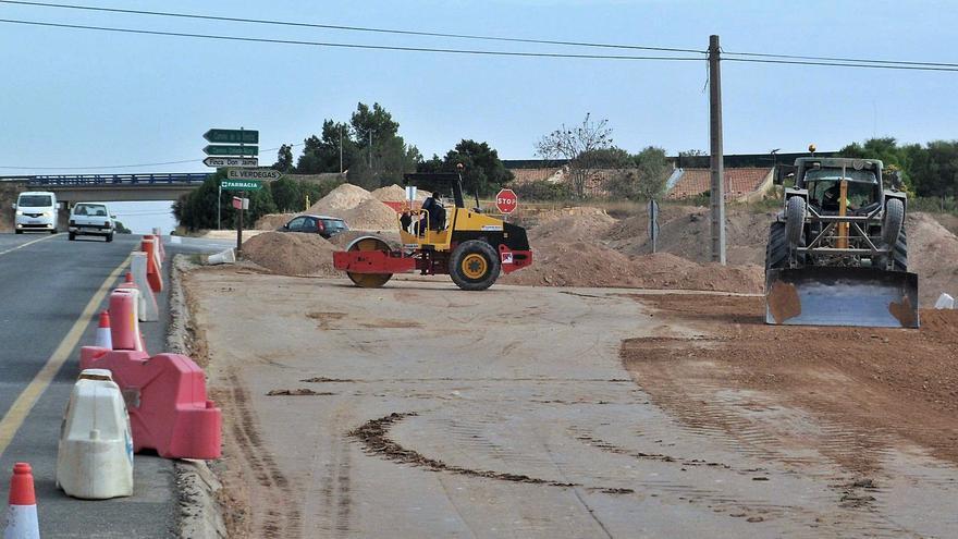 Desbloquean las obras de mejora de CV-820 entre San Vicente y Agost