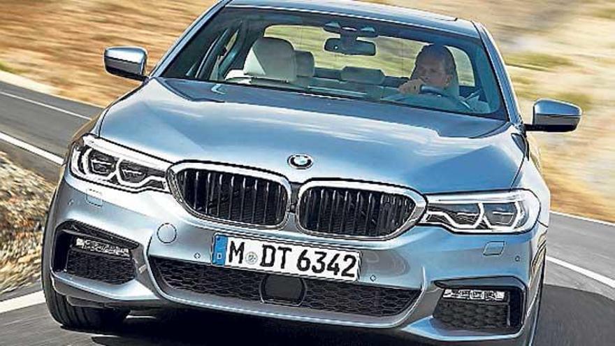 Nuevo BMW Serie 5 Berlina, deportividad y elegancia