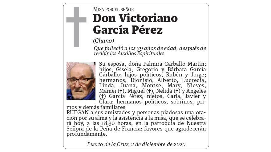 Victoriano García Pérez