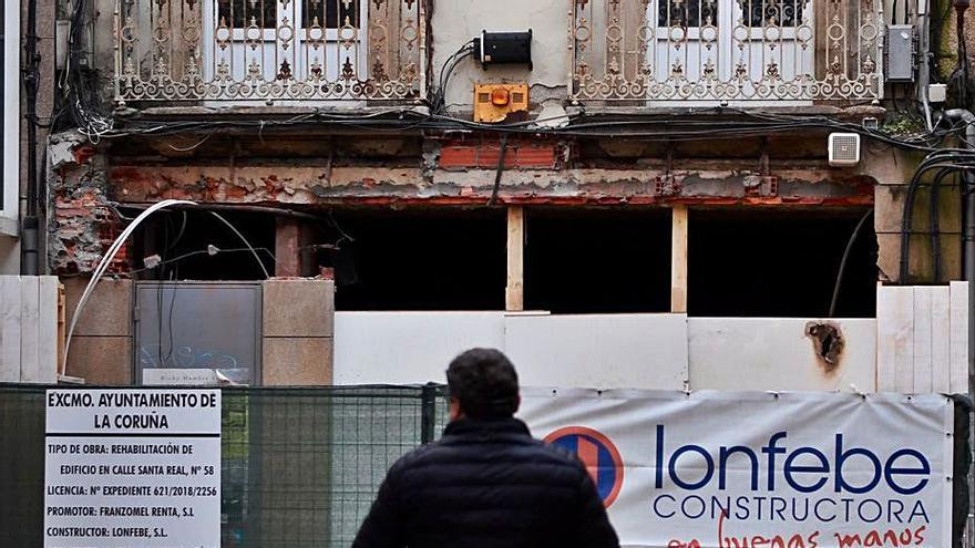 Los arquitectos técnicos registran una subida de un 10% de obras en la ciudad