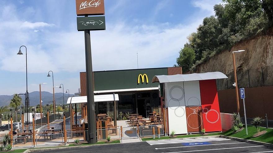 McDonald's abre su primer restaurante en Coín, frente al centro comercial La Trocha
