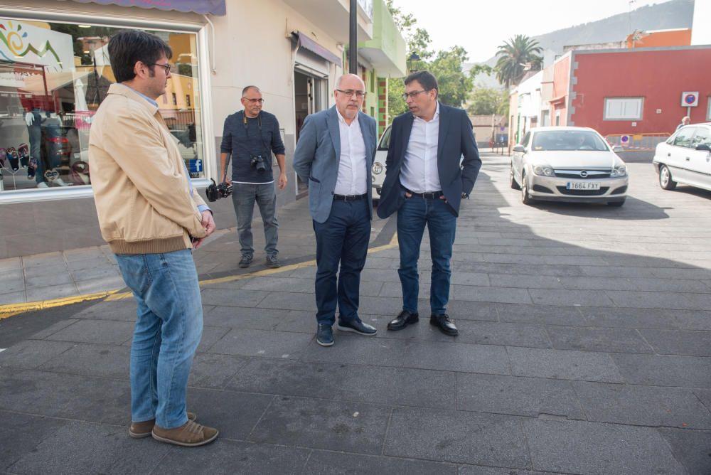 Comienzan la siguiente fase de la renovación de la Zona Comercial de Valsequillo