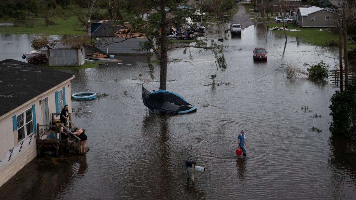 Algunos de los destrozos provocados por Ida en Luisiana