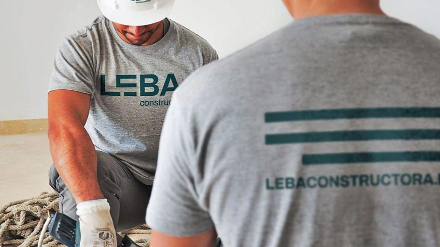 LEBA Constructora: obras con nombre propio