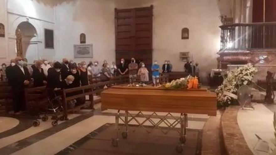 Motetes a Joaquín Serrano en su sepelio