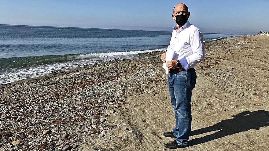 OSP pide dos despedregadoras para las playas de San Pedro