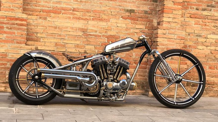 Los amantes de la Harley Davidson se citan en Port Adriano