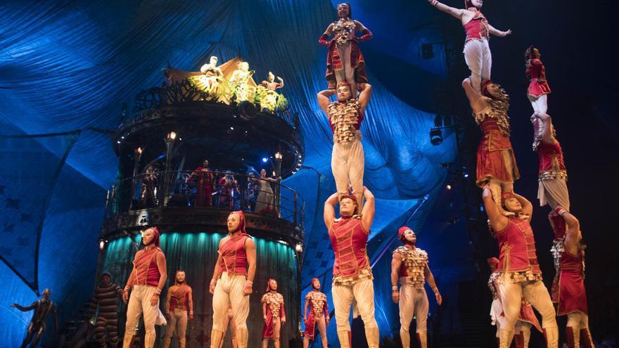 El Circo del Sol estrena hoy gratis su último espectáculo