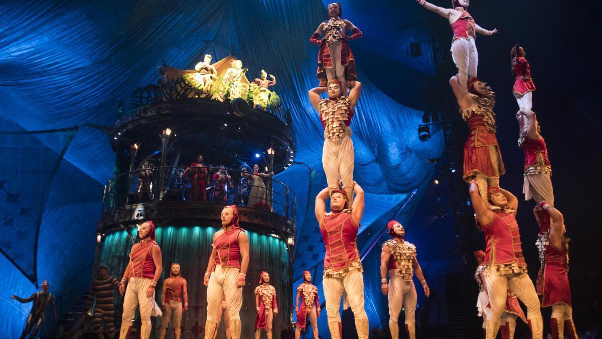 El Circo del Sol estrena nuevo espectáculo en abierto hoy.